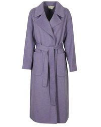 Michael Kors Blend Coat - Paars