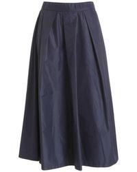 Paolo Fiorillo Capri Skirt 7420369603 598 - Blu