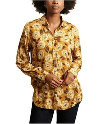 Hartford Corazon Shirt - Geel