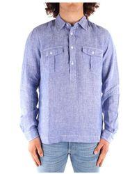 Blauer 21sblus01216 Overhemd - Blauw