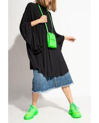 Balenciaga - Oversize shirt Negro - Lyst