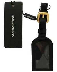 Dolce & Gabbana Keyring Chain Case Keychain - Zwart