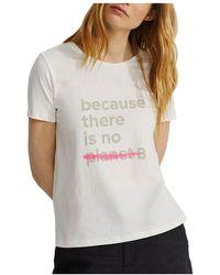 Ecoalf T-shirt - Wit