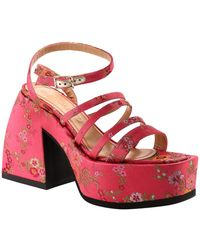 NODALETO Sandals No52839 Rosa