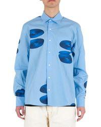 Pop Trading Company Shirt - Bleu