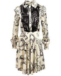 Shirtaporter Dress - Blanc