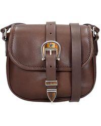 Golden Goose Deluxe Brand Rodeo Shoulder Bag - Bruin
