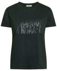 Mads Nørgaard Scarab Single Organic Trenda T-Shirt - Grigio