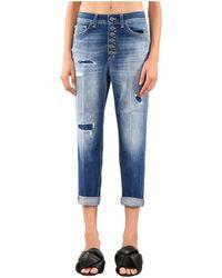 Dondup Jeans modello koons gioiello - Blu