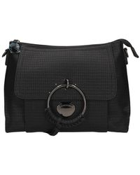 Le Pandorine Pe21dbr02813 Shoulder Bag - Zwart