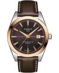 Tissot Gentleman watch - Marrón