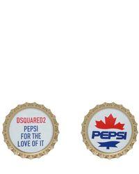DSquared² Pin Pepsi - Wit