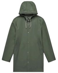 Stutterheim Stockholm Raincoat - Vert