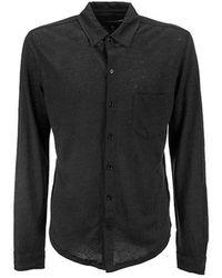 Majestic Filatures Shirt - Noir