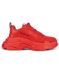 Balenciaga Triple S Sneakers - Rood