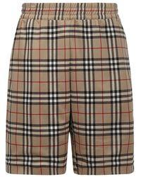 Burberry Shorts - Naturel