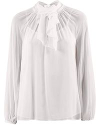 Fabiana Filippi Relaxed Fit Blouse - Wit