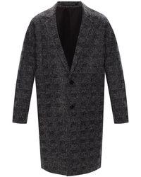 AllSaints 'Remmington' notched lapel coat - Gris