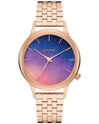 Komono Watch - Geel