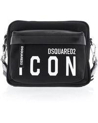 DSquared² Crossbody Bag - Zwart