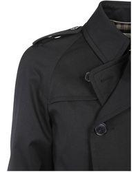 Saint Laurent Coat Negro