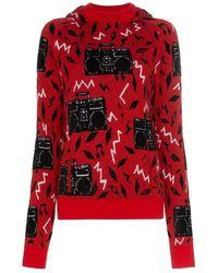 Saint Laurent Sweaters - Rood