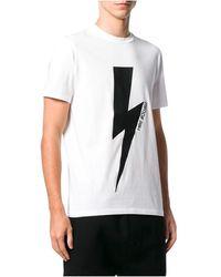 Neil Barrett T-shirt - Blanc