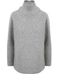 Vince Turtleneck Sweater - Grijs