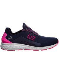 EA7 Trainers sneakers C2 Light - Blau