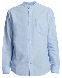NN07 Shirt 2025142558-210 - Blauw