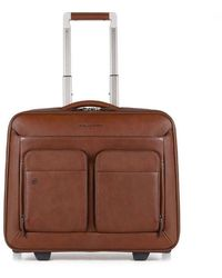 Piquadro Suitcase - Bruin