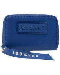 Desigual Wallet - Blauw