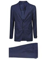 Moncler Suit - Bleu