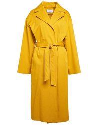 Borbonese Coat Boc0003 Tco045 11 - Jaune