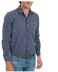 Harmont & Blaine Shirt - Blau