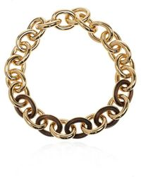 Jil Sander Chain necklace - Giallo