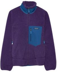 Patagonia Classic Retro-x Pile Fleece Sweater - Paars