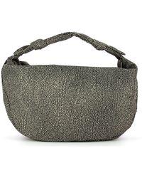 Borbonese Hobo Bag Large Desert - Bruin