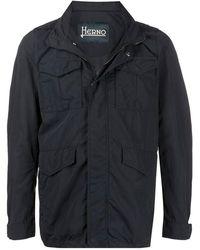 Herno - Field Jacket - Lyst