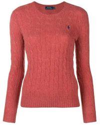 Ralph Lauren Sweater 211525764 - Rood