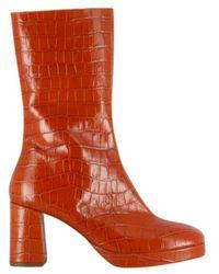 Miista Carlota Rust Croc - Orange