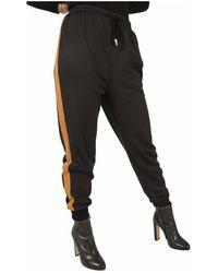 M Missoni Pantalone jogging con banda laterale - Schwarz