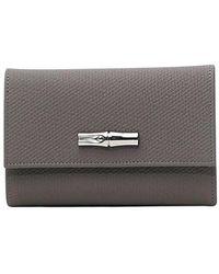 Longchamp Wallet - Grijs