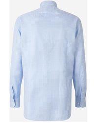 AMI - Shirt Azul - Lyst