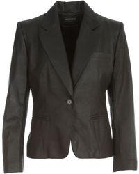 Steve Madden Angelina Classic Jacket - Zwart