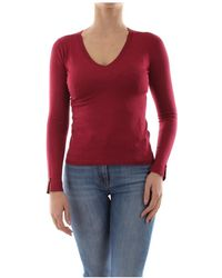 Liu Jo M69010 Ma36a Knitwear Women Bordeaux - Rood