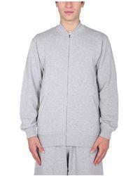 Comme des Garçons Sweatshirt With Zip X Kaws - Grijs