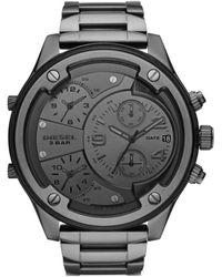 DIESEL Time Frames Dz7426 Watch Men Dark Grey - Grijs