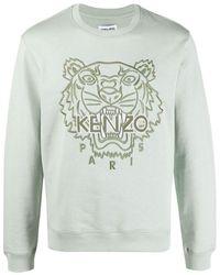 KENZO Tiger Sweatshirt - Groen