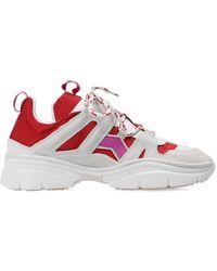 Isabel Marant 'kindsay' Sneakers - Wit